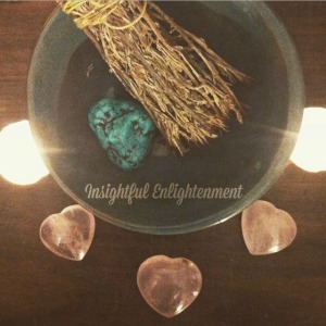 Smudging & Crystals - Insightful Enightenment